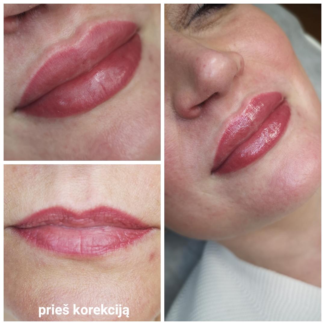 Lūpų permanentinis makiažas 4